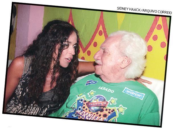 Daniela Mercury e Jorge Amado