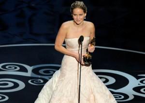 Jennifer Lawrence: Melhor Atriz do ano, só para a Academia.