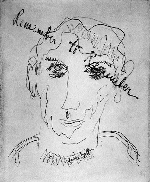 Autorretrato de Henry Miller