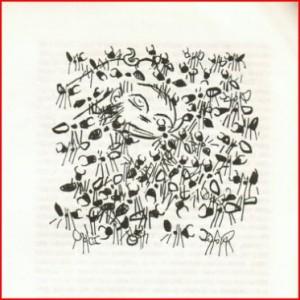 20 - O Buendía com rabo de porco, o último da estirpe, sendo comido pelas formigas