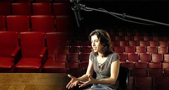 Fernanda Torres em Jogo de Cena.