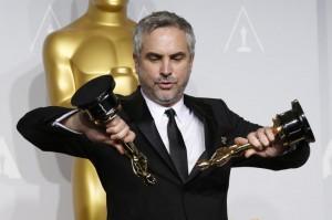 Alfonso Cuarón: seu bom trabalho e anos de desenvolvimento de inovações técnicas foram premiados com prêmios importantes