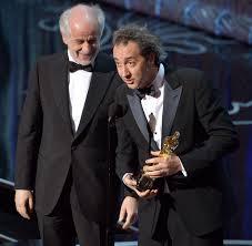 Paolo Sorrentino recebe o 11° Oscar da Itália. Um dia seremos nós...