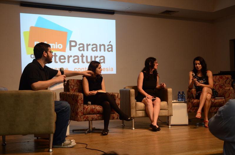 Vencedoras do prêmio Paraná de Literatura 2014 (Romance, Poesia e Contos)